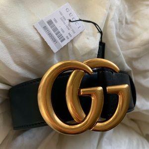 🏝New Gucci Belt Âùtgebtīć Double G Marmot í